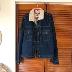 Old Navy Fleece Lined Jacket Large